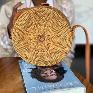 Handmade Rattan Shoulder Bag